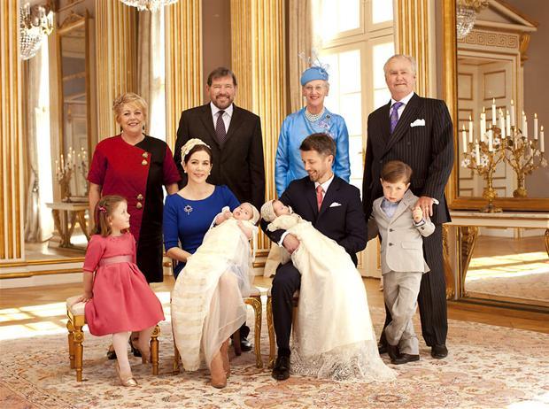 kongelig barnedåb